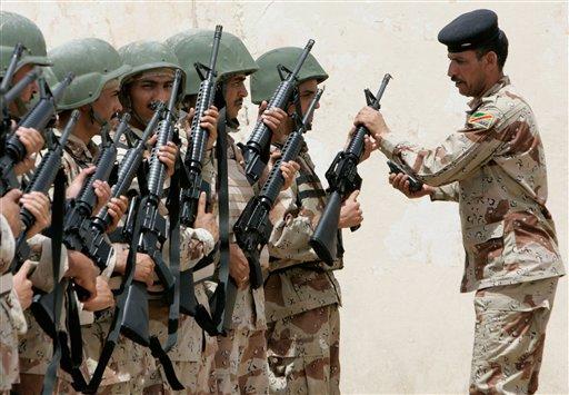 Иракийн Засгийн газрын цэрэг