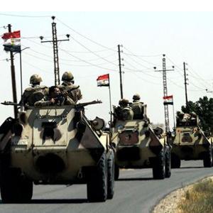 Египетийн армийнхан хэт даврагч 40 этгээдийг устгажээ