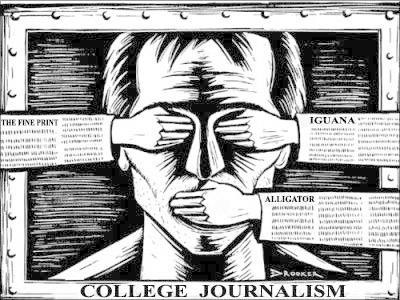 Хэвлэлийн эрх чөлөөнөөс, хэлэх үггүй сэтгүүл зүй рүү