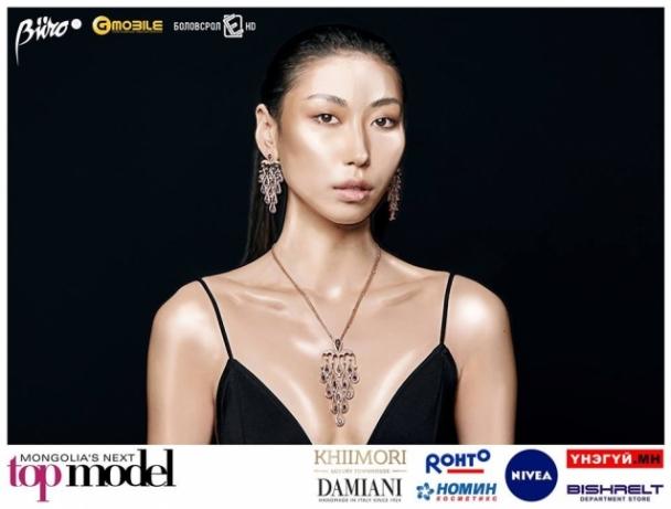 "Б.Цэрэндолгор ""Mongolia's next top model"" боллоо"