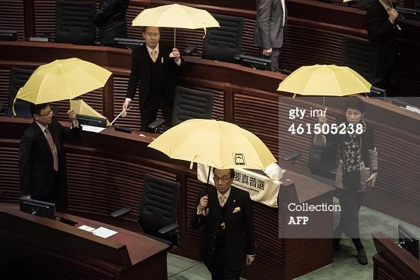 """Хятадын """"Ардчилсан"""" намын гишүүд захирагч Лин Чен Иенийг огцрохыг шаарджээ"""