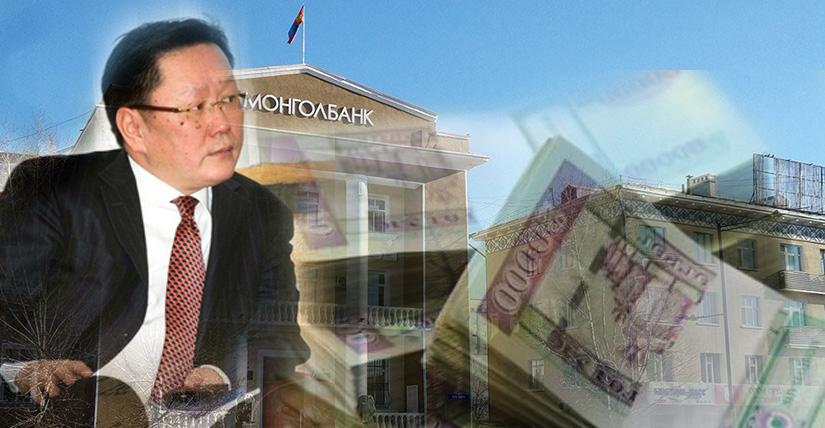 Монголбанк 23.6 сая ам.доллар худалдав