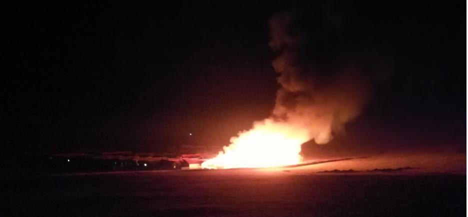Шуурхай мэдээ: Амгалан хотхонд ихээхэн хэмжээний гал түймэр гарлаа