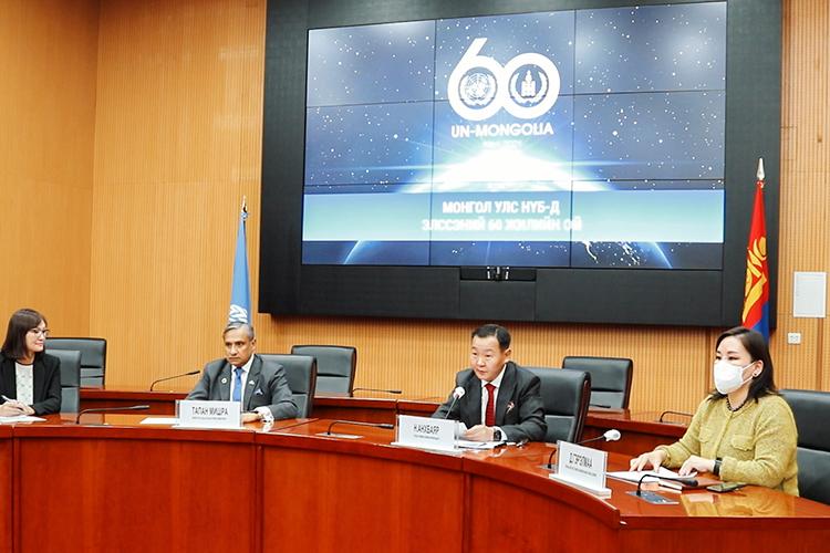 Монгол Улс НҮБ-д элссэний 60 жилийн ойн арга хэмжээ: Нэг га талбайд 2500 мод тарьснаар эхэлнэ