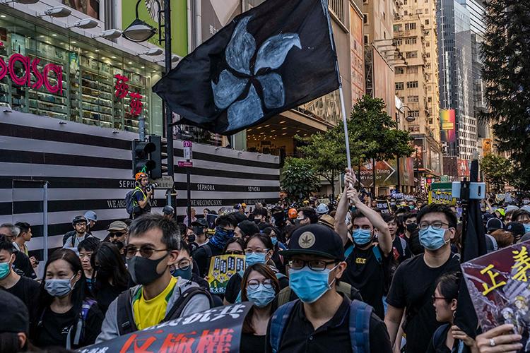 Хонконгод өнгөт хувьсгал гарсан уу?
