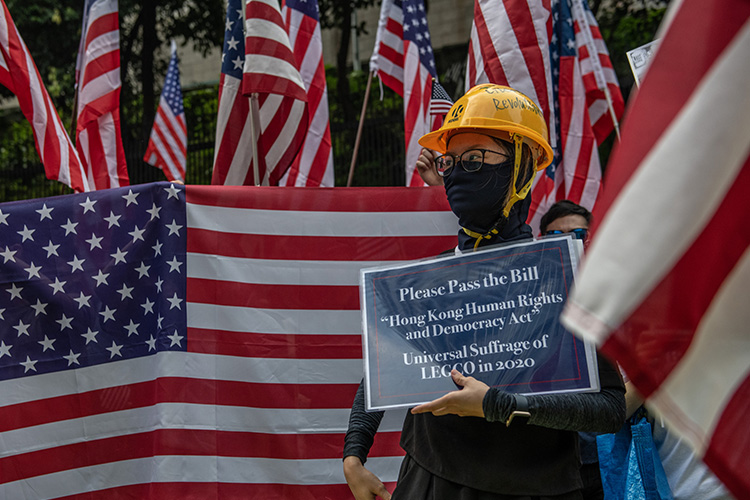 Хонг Конгийн тухай хуулийг АНУ батлахад хүрвэл Хятад хариу арга хэмжээ авна гэжээ