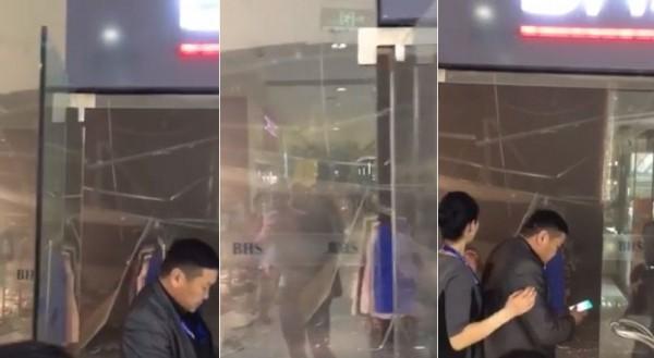 Max Mall-н дэлгүүрийн тааз нурж хүмүүс бэртжээ