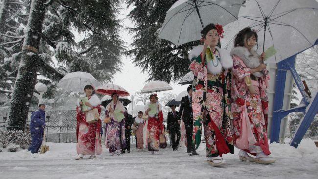 Японы Фукуока мужид эрс хүйтэрснээс усан хангамж тасарчээ