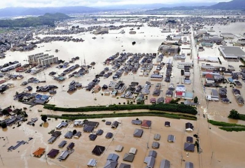 Байгалийн гамшгийн уршгаар Японы Эхимэ мужид олон хүн амь насаа алджээ