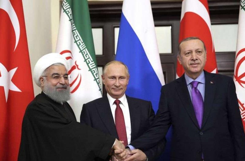 ОХУ, Турк, Ираны төрийн тэргүүн нарын уулзалтаас Сирийн асуудлаар хамтарсан мэдэгдэл гаргалаа
