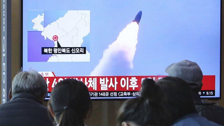 Хойд Солонгос шумбагч онгоцноос баллистик пуужин харвалаа