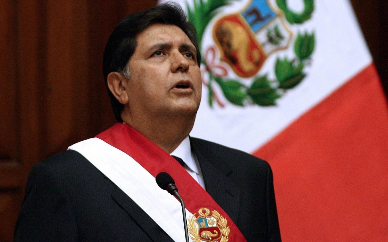 Перугийн экс Ерөнхийлөгч авлигын хэргээр баривчлагдахаасаа өмнө өөрийгөө буудан хөнөөлөө