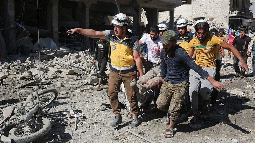 Сирийн Идлиб мужид амиа алдсан хүмүүсийн тоо нэмэгджээ