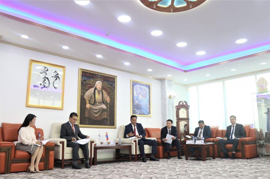 Гадаадын иргэн, харьяатын газрын даргын урилгаар БНСУ-ын Хууль зүйн яамны Цагаачлал, шилжилт хөдөлгөөний албаны төлөөлөгчид Монгол Улсад айлчиллаа