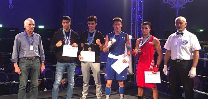 """Б.Мишээлт """"Eindhoven Box Cup""""-аас алтан медаль хүртлээ"""