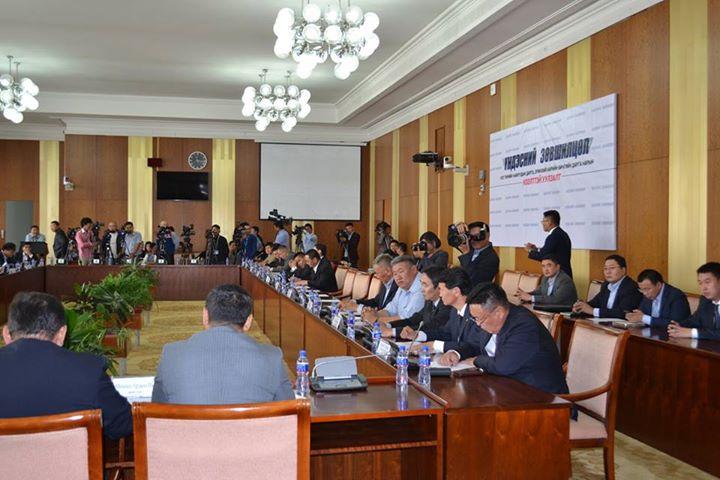 Монголын улс төрийн бүх намууд  хамтарч Сонгуулийн тухай хуулийг боловсруулахаар боллоо