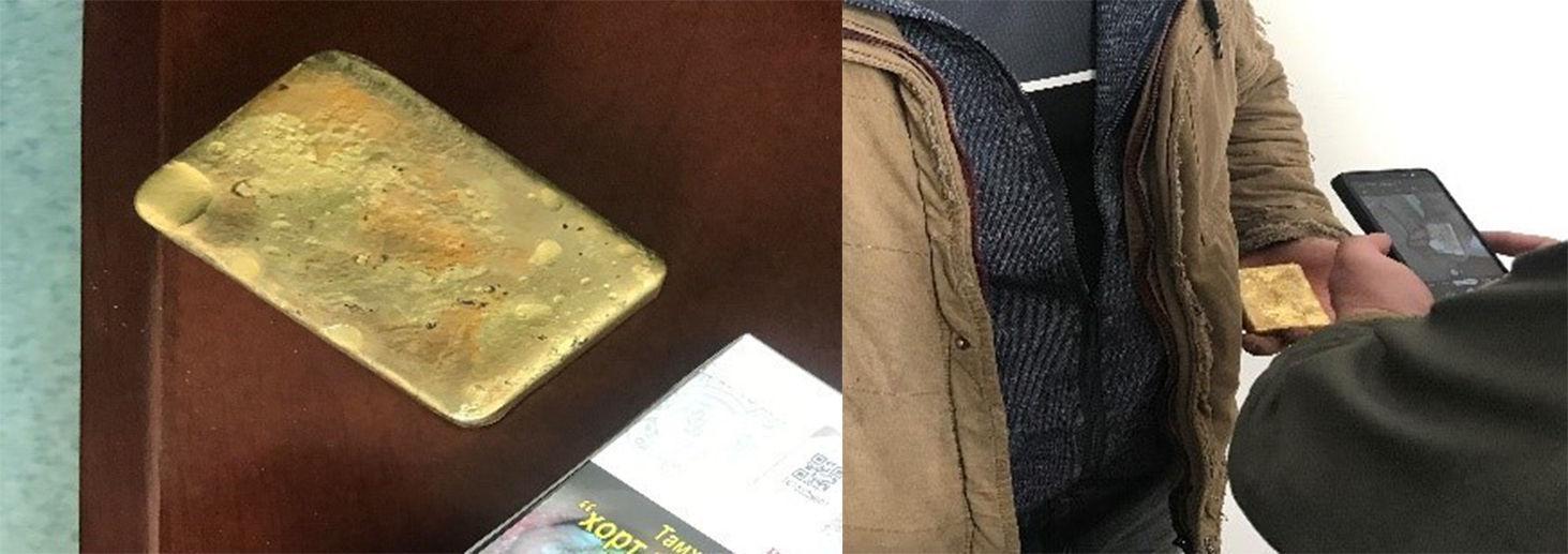 Хилээр хууль бусаар алт нэвтрүүлэхийг завдсан үйлдлийг илрүүллээ