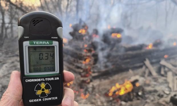 Чернобыльд ойн түймэр гарснаас болоод цацрагийн хэмжээ 20 дахин нэмэгджээ