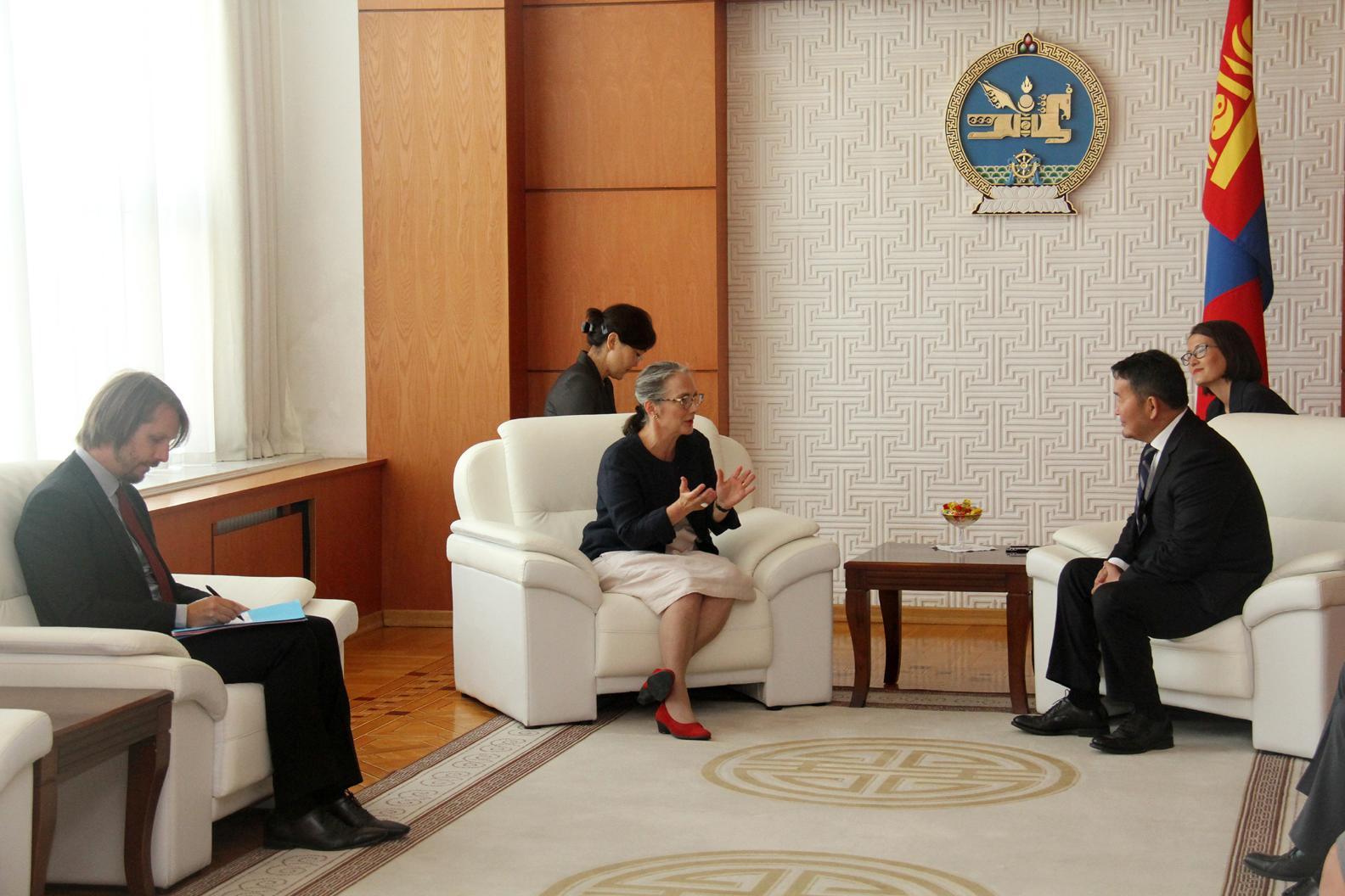 Х.Баттулга: Монгол, Францын эдийн засгийн харилцаа жил жилээр буурч байна