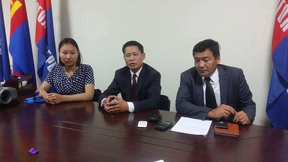 Нийслэлийн Монгол Консерватив намын даргаар Б.Энхбаяр сонгогдлоо