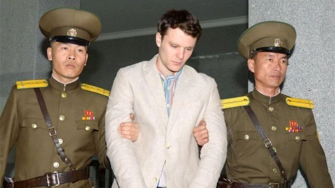 Умард Солонгосоос суллагдсан Америк оюутан нас баржээ