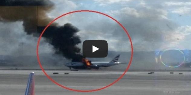 АНУ-д хөөрөх гэж байсан онгоцонд гал гарчээ