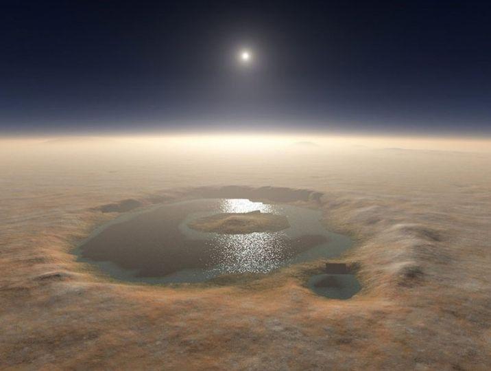 Ангараг гарагийн дөрөв дэх нуурыг нь олж тогтоожээ