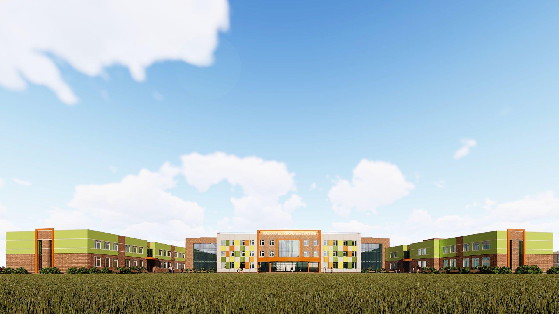 Даланзадгад хотноо сүндэрлэх 1200 хүүхдийн шинэ сургуулийн барилгын ажил эхэллээ