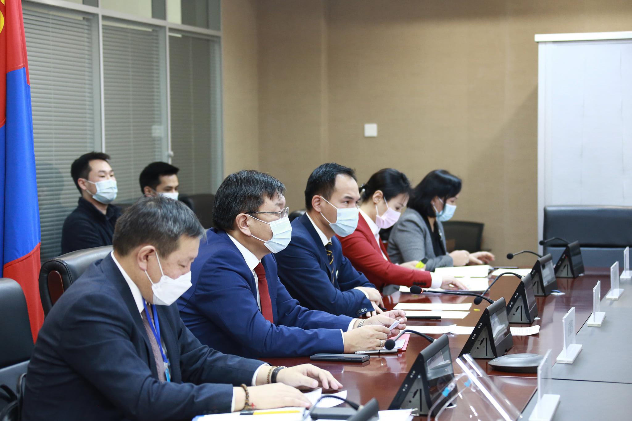 Монгол, Хятадын Засгийн газар хоорондын комиссын хуралдаан зохион байгуулав