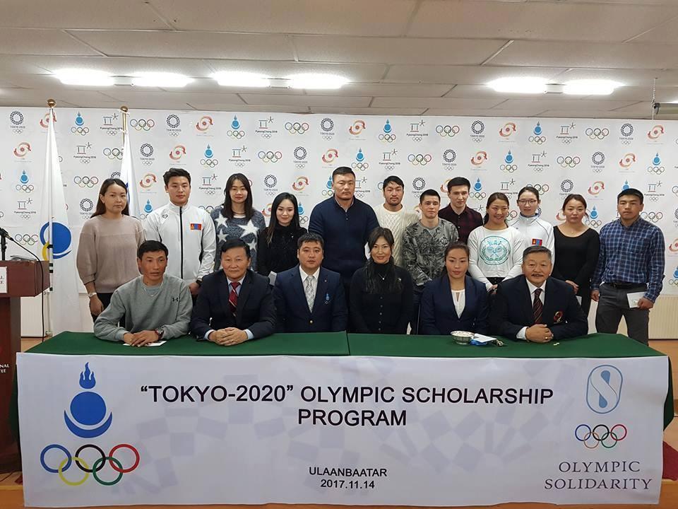 Тамирчин, дасгалжуулагч нарт Олимпийн тэтгэлэг гардуулав