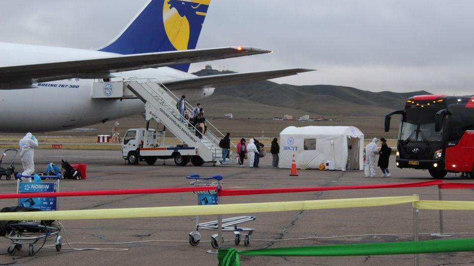 Сөүл-Улаанбаатар чиглэлийн транзит тусгай үүргийн онгоцоор 255 иргэн эх орондоо ирнэ