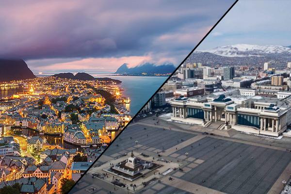 Норвеги ба бидний Монгол