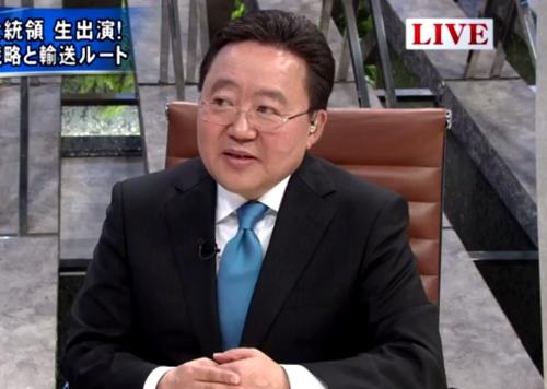 Ерөнхийлөгч Ц.Элбэгдоржийн Японы