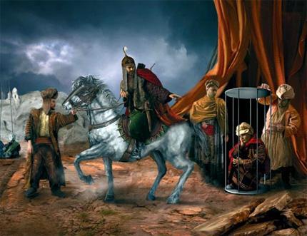 Аянга удган доголон Төмөр хааны сүнсийг Монголд авчирсан нь