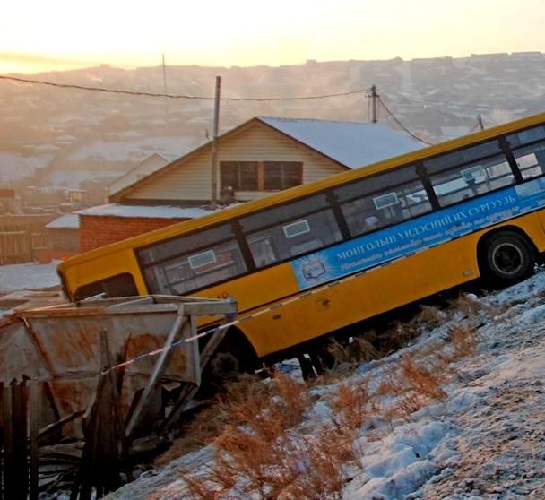 """""""Сутайн буянт"""" ХХК-ийн автобусанд 9 хүн дайруулснаас, нэг хүн нас баржээ"""