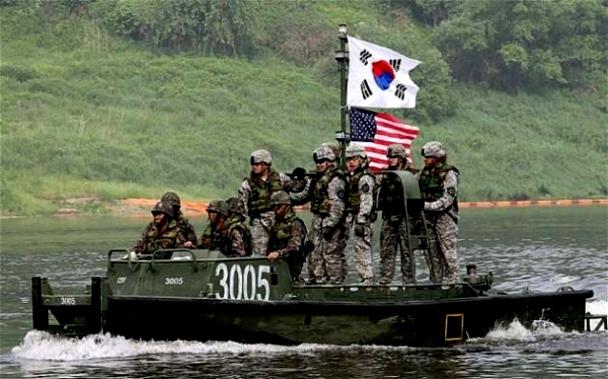 АНУ, Өмнөд Солонгосын хамтарсан сургуулилт дууслаа