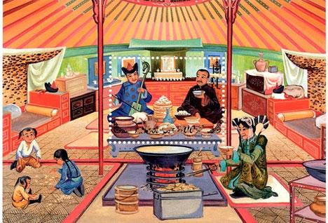 Монголын төр, шашны баяр Цагаан сар /Битүүн/