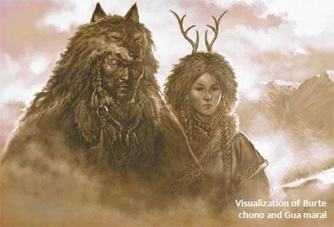 Бөртө чоно, Гоо марал домгийн амьтад уу, эсвэл хүн байв уу?