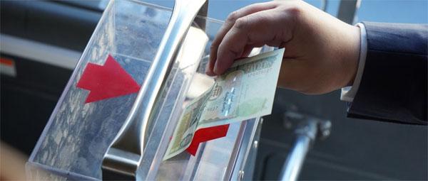 Бямба гаригт бүх автобус мөнгөний хайрцаггүй үйлчилгээнд гарна