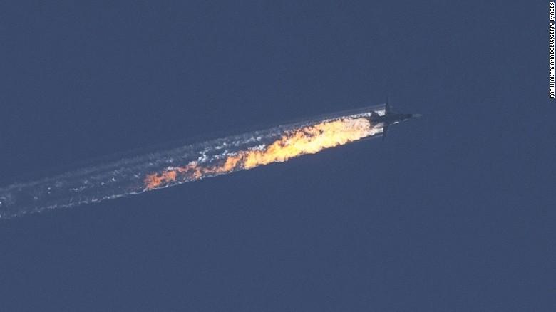 Оросын байлдааны онгоцыг Турк буудаж унагалаа