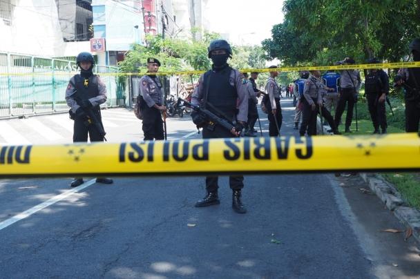 Индонезид амиа золиослогчид дахин халдлага үйлдэв