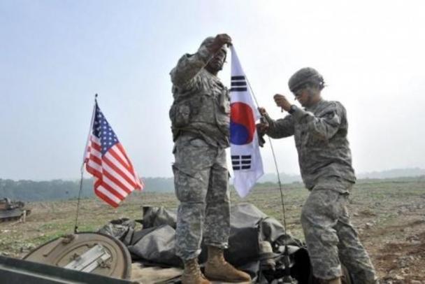 АНУ болон Өмнөд Солонгос хамтарсан цэргийн сургуулилтаа зогсоожээ
