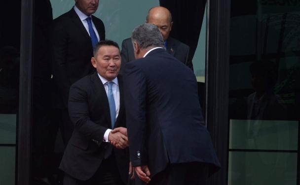 Ерөнхийлөгч Х.Баттулга Азербайжин улсад айлчилж байна