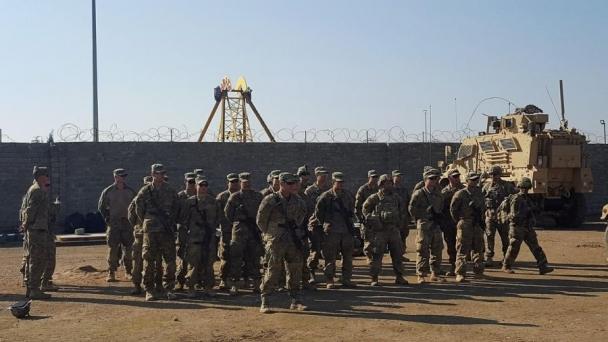 АНУ-ын хүчнийхэн байрладаг цэргийн бааз руу пуужин харважээ