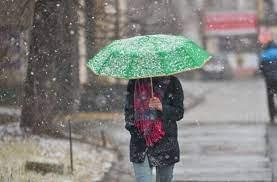 Төв болон зүүн аймгуудын зарим газраар бороо, нойтон цас орно