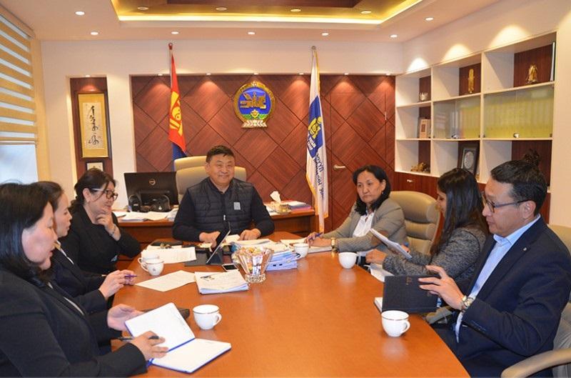 Төрийн нарийн бичгийн дарга Д.Очирбат АХБ-ны Төслийн үнэлгээний багийн гишүүдийг хүлээн авч уулзлаа