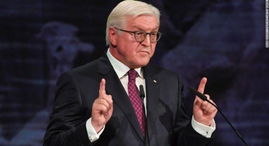 Германы Ерөнхийлөгч  сирийн зөрчлийг хамтдаа шийдэхийг Путин, Трамп хоёрт уриаллаа