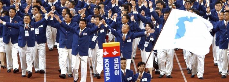 Хоёр Солонгос эргэн нэг далбаан дор