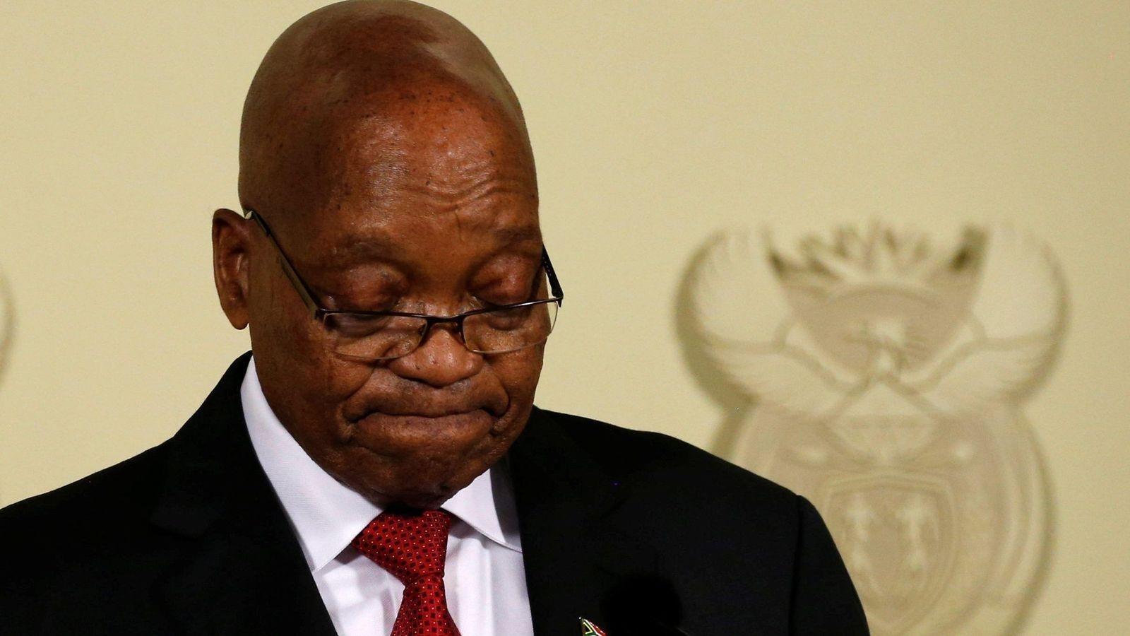 Өмнөд Африкийн ерөнхийлөгч Жэкоб Зума огцрох болсноо зарлалаа