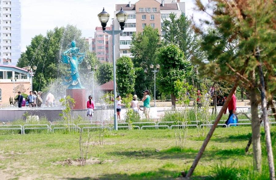 Хан-Уул дүүрэг шинэ цэцэрлэгт хүрээлэнтэй боллоо